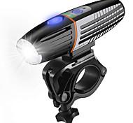 economico -LED Luci bici Luce frontale per bici LED Ciclismo da montagna Bicicletta Ciclismo Impermeabile Modalità multiple Super luminoso Sicurezza Solare 450 lm Batteria ricaricabile Bianco Campeggio