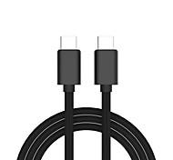 economico -USB C Cavi Carica rapida Trasmissione dati Caricatore del telefono 1.0m (3 piedi) TPE Per Xiaomi MI Samsung Xiaomi Appendini per cellulare