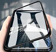 economico -telefono Custodia Per Samsung Galaxy Integrale Con chiusura magnetica A calamita Doppia setola Transparente Vetro temperato Metallo