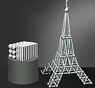 abordables -63 pcs 8mm Jouets Aimantés Boules Magnétiques Bâtons Magnétiques Blocs de Construction Aimants de terres rares super puissants Aimant Néodyme Cube casse-tête Adulte Garçon Fille Jouet Cadeau