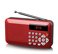 abordables -F1 Son réglable / Mode silencieux Radio portable Batterie Li intégrée