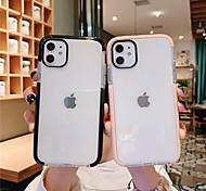 economico -telefono Custodia Per Apple Per retro iPhone 12 Pro Max 11 SE 2020 X XR XS Max 8 7 6 Resistente all'acqua Transparente Transparente TPU