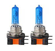 abordables -2 pcs Voiture H15 Ampoule Halogène 12 V Blanc Phare Au Xénon DRL Lampe Lumière 5000 K 55 W Pour Voiture De Luxe Xénon Lumière Remplacement 12 V
