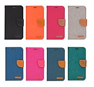 economico -telefono Custodia Per Apple Integrale Custodia in pelle iPhone 12 Pro Max 11 SE 2020 X XR XS Max 8 7 6 iPhone 11 Pro Max SE 2020 X XR XS Max 8 7 6 Porta-carte di credito Resistente agli urti Tinta