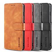 economico -telefono Custodia Per Samsung Galaxy Integrale Custodia in pelle Porta carte di credito S9 S9 Plus S8 Plus S8 Bordo S7 S7 S10 S10 + S10 Lite A10 A portafoglio Porta-carte di credito Resistente agli