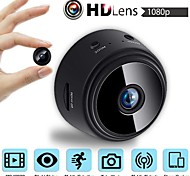 abordables -LITBest 32g TF Card HDMINICAM APP 25fps Wireless Camera P2P IP Mini Cam WIFI Camera 1080P Night Vision Motion Detection 2 mp Caméra IP Intérieur Soutien 64 GB / # / CMOS / 50 / 60 / iPhone OS