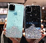 economico -telefono Custodia Per Apple Per retro iPhone 12 Pro Max 11 SE 2020 X XR XS Max 8 7 6 iPhone 11 Pro Max SE 2020 X XR XS Max 8 7 6 Fantasia / disegno Glitterato Glitterato TPU