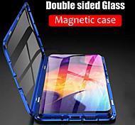 economico -telefono Custodia Per Samsung Galaxy Integrale Custodia ad adsorbimento magnetico S21 S21 Plus S21 Ultra S20 Plus S20 Ultra S20 S9 S9 Plus S8 Plus S8 A calamita Doppia setola Trasparente Tinta unita