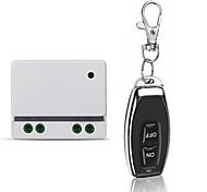 economico -ac110v ac220v interruttore relè 1ch / luce / interruttore di accensione / spegnimento led con pulsante codice pendente / telecomando on off / 433mhz