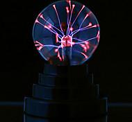abordables -nouveauté magie boule de plasma lumière lampe électrique veilleuse table lumières sphère noël enfants cadeau verre lampe à plasma