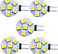 economico -5 pezzi 2 W Luci LED Bi-pin 120 lm G4 6 Perline LED SMD 5050 Bianco caldo Bianco 9-30 V