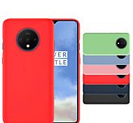 economico -telefono Custodia Per OnePlus Per retro Silicone OnePlus 7 Oneplus 7 pro uno più 7T uno più 7T Pro Resistente agli urti Ultra sottile Tinta unita Silicone Stoffa (cotone)