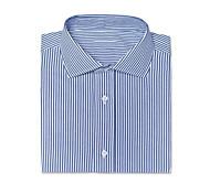 abordables -shir bleu marine à fines rayures helston
