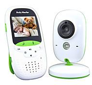 economico -baby monitor 720p 2 display hd video baby monitor con fotocamera e audio schermo ips portata 850ft batteria 4500 mah audio a due vie zoom one-click visione notturna e monitor termico