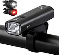 economico -LED Luci bici Luce frontale per bici luci di sicurezza LED Bicicletta Ciclismo Uscita di ricarica USB Rilascio rapido Duraturo Batteria al litio 200/360 lm Batteriaricaricabile Built-in alimentazione