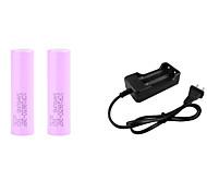 abordables -Chargeur de batterie batterie 4200 mAh 3.7 V pour Lithium-ion 18650 Torche Lumière de vélo Lampes frontales Rechargeable Portable Charge Rapide Camping / Randonnée / Pêche / Cyclisme / Vélo