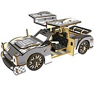 abordables -Puzzles 3D Puzzle Kit de Maquette Mode Automatique Enfants A Faire Soi-Même En bois 1 pcs Classique Moderne contemporain Mode Voiture Classique Enfant Adulte Garçon Fille Jouet Cadeau