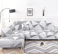 abordables -rayures géométriques impression housses extensibles anti-poussière housse de canapé extensible housse de canapé en tissu super doux (vous obtiendrez 1 taie d'oreiller comme cadeau gratuit)