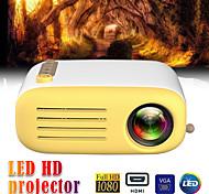 abordables -yg200 usb hdmi av sd mini portable hd led lcd projecteur beamer home media player vidéo support 1080p av usb sd carte 320 x 240 hdmi / usb / av / cvbs pour le bureau de l'école à domicile