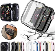 abordables -Probefit 360 Slim Watch Cover for Apple Watch Case 5 4 Soft Clear TPU Screen Protector for iwatch 4 3 44mm 40mm
