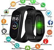 abordables -Montre Connectée Digitale Numérique Digitale Numérique Luxe Etanche Bluetooth Elégant / Silikon