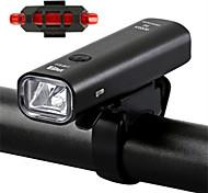 economico -LED Luci bici Luce frontale per bici luci di sicurezza LED Bicicletta Ciclismo Uscita di ricarica USB Rilascio rapido Duraturo Batteria al litio 360 lm Batteriaricaricabile Alimentatore incorporato