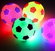 abordables -Football Boule Eclairage LED Jouets Lumineux Brillant Enfant pour des cadeaux d'anniversaire et des cadeaux 2 pcs / Caoutchouc