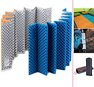abordables -Matelas Tapis de camping en mousse Randonnée nature Extérieur Camping Aluminium IXPE Portable Résistant à l'humidité Ultra léger (UL) Epais 183*56 cm pour Camping / Randonnée Extérieur 1 personne