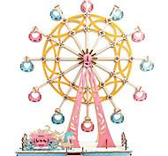 abordables -Grande roue Puzzles 3D Puzzles en bois Puzzles en Métal Kit de Maquette Maquettes de Bois Métal Enfant Adulte Jouet Cadeau