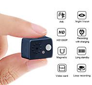 abordables -1080p HD mini caméra 2 mp détection de mouvement caméra pir vision nocturne dvr caméscope sport petite caméra dv vidéo caméra inductive du corps humain