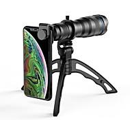 economico -Obiettivo del telefono cellulare Lunghezza focale della lente vetro 10X e oltre 50 mm 5 ° Obiettivo con supporto / Nuovo design / Fantastico