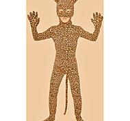 abordables -Combinaison Morphsuit Combinaison-pantalon Costume de peau Animal Cosplay Enfant Spandex Lycra Costumes de Cosplay Genre Léopard Animal Noël Halloween Carnaval / Collant / Combinaison
