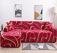 abordables -housse de canapé en forme de L super housse de canapé en tissu super doux avec une taie d'oreiller gratuite