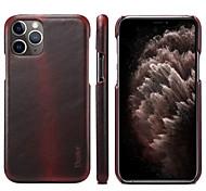 economico -telefono Custodia Per Apple Per retro Custodia in pelle iPhone 12 Pro Max 11 Pro Max Porta-carte di credito Resistente agli urti Tinta unita vera pelle