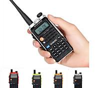 economico -baofeng uvb2 plus 4800mah radio bidirezionale dual band vhf / uhf walkie talkie 128ch interfono bf-uvb2 cb ham ricetrasmettitore radio portatile