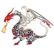 abordables -Puzzles 3D Puzzles en bois Dragons & Dinosaures En bois Enfant Adulte Unisexe Garçon Fille Jouet Cadeau