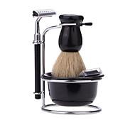 abordables -Ensembles et kits de rasage Visage Accessoires de rasage Rasage à Sec et sous l'Eau Métallique / Acier inoxydable + plastique
