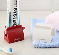 abordables -extrudeuse manuelle automatique de dentifrice presse-dentifrice créatif en plastique fournitures de salle de bains 2 emballages