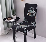 abordables -Housse de chaise Plantes / Imprimé Imprimé Polyester Literie