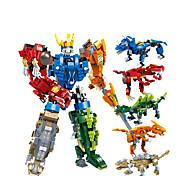 abordables -Blocs de Construction 1 pcs Tyrannosaurus Rex compatible Carcasse de plastique Legoing Transformable Focus Toy A Faire Soi-Même Tous Jouet Cadeau