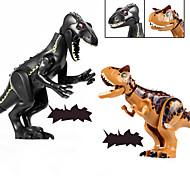 abordables -Blocs de Construction 1 pcs Dinosaure Jurassique Dinosaure compatible ABS + PC Legoing Simulation Tous Jouet Cadeau / Enfant