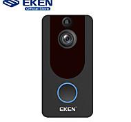 abordables -eken v7 hd 1080p smart wifi caméra vidéo sonnette interphone visuel vision nocturne ip porte cloche caméra de sécurité sans fil
