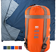 abordables -Naturehike Mini-Ultraléger Sac de couchage De plein air Camping Rectangulaire 15 °C Simple Coton imitation soie Portable Mini Pluie Etanche Chaud Ultra léger (UL) Compression 190*75 cm Printemps