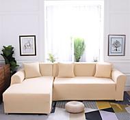abordables -Housse de canapé Romantique Teinture Mélange polyester / coton Literie