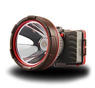 abordables -Lampes Frontales Imperméable Super brillant 100 lm LED LED 1 Émetteurs avec Piles Imperméable Super brillant Portable Camping / Randonnée / Spéléologie Usage quotidien Cyclisme Extérieur Rouge Orange