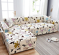 abordables -Housse de canapé Plantes / Romantique / Fleurie Imprimé Polyester Literie