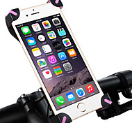 abordables -Monture de Téléphone Pour Vélo WEST BIKING® Antidérapant Ajustable / Réglable Durable pour PVC Vélo de Route Vélo tout terrain / VTT iPhone X iPhone XS iPhone XR Cyclisme Noir / Rouge Noir
