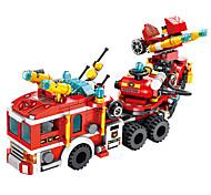 abordables -Blocs de Construction 557 pcs Véhicules compatible ABS + PC Legoing Simulation Véhicule de Pompier Tous Jouet Cadeau / Enfant