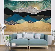 economico -5 dimensioni bella foresta naturale stampata grande arazzo a parete hippie a buon mercato appeso a parete bohemien arazzi arazzi mandala wall art decor