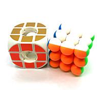 abordables -Ensemble de cubes de vitesse 2 pcs Cube magique Cube QI z-cube 3*3*3 Cubes Magiques Casse-tête Cube Niveau professionnel Voyage Adolescent Adulte Jouet Cadeau